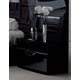 ESF Furniture Marbella Nightstand in Black