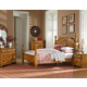 Standard Furniture Georgetown Poster Bedroom Set in in Golden Honey Pine