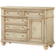 Standard Furniture Chateau Chesser in Bisque Paint 82896
