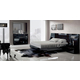 ESF Furniture Marbella 4-Piece Platform Bedroom Set in Black