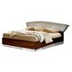 ESF Furniture Onda Queen Platform Bed in Walnut