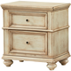 Standard Furniture Chateau Nightstand in Bisque Paint 82857 PROMO