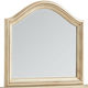 Standard Furniture Chateau Mirror in Bisque Paint 82858