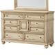 Standard Furniture Chateau Dresser in Bisque Paint 82859