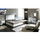 ESF Furniture 622 Penelope 4-Piece Platform Bedroom Set in White