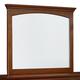 Standard Furniture Cooperstown Mirror in Sheen Spiced Cherry 93808