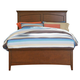 Standard Furniture Cooperstown King Panel Bed in Sheen Spiced Cherry