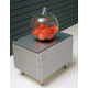 ESF Furniture 390 Nina M-72 Nightstand in Silver