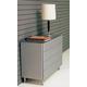 ESF Furniture C-72 Dresser in Silver