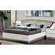 ESF Furniture Onda King Platform Bed in White