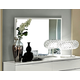 ESF Furniture Onda Mirror in White