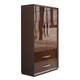 ESF Furniture Carmen 2 Door Wardrobe in Walnut