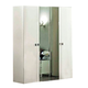 ESF Furniture Onda 4 Door Wardrobe in White