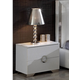 ESF Furniture 624 Coco Nightstand M97 in White