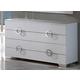 ESF Furniture 624 Coco Dresser C97 in White