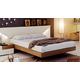 ESF Furniture Elena Queen Platform Bed in Walnut