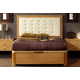 ESF Furniture 515 Alicante Queen Platform Storage Bed in Cherry