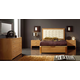 ESF Furniture 515 Alicante Platform Storage Bedroom Set in Cherry