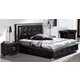 ESF Furniture 624 Coco Queen Platform Storage Bed in Black