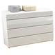ESF Furniture Sara Single Dresser in White
