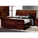 ESF Furniture Capri King Sleigh Bed in Walnut