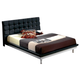 ESF Furniture 603 Toledo Full Platform Bed in Black