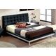 ESF Furniture 603 Toledo Queen Platform Bed in Black
