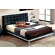 ESF Furniture 603 Toledo King Platform Bed in Black