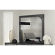 ESF Furniture Elite Grey Birch Mirror in Grey