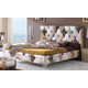 ESF Furniture 870 Tiffany King Platform Bed