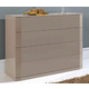 ESF Furniture 870 Tiffany Dresser C102 in Mokka