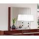ESF Furniture Status Caprice Mirror in Walnut