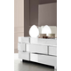ESF Furniture Status Caprice Dresser in White