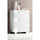 ESF Furniture Status Caprice 5 Drawer Chest in White