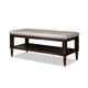 Durham Furniture Blairhampton Bed Bench in Husk 141-010H