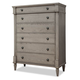 Durham Furniture Blairhampton Drawer Chest in Shale 141-156S