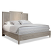 Durham Furniture Blairhampton Queen Panel Bed in Shale 141-125SHAL