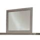 Durham Furniture Blairhampton Vertical Frame Mirror in Shale 141-181S