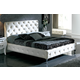 ESF Furniture 621 Nelly Queen Platform Bed in White