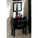 ESF Furniture 621 Nelly M-95 Nightstand in Black