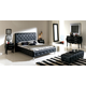 ESF Furniture 621 Nelly Platform Bedroom Set in Black