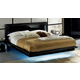 ESF Furniture La Star Queen Platform Bed in Black