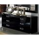 ESF Furniture La Star Double Dresser in Black