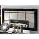 ESF Furniture La Star Maxi Mirror in Black