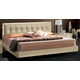 ESF Furniture La Star King Plano Platform Bed in Ivory
