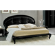 ESF Furniture Magic Queen Diamante Platform Bed in Black