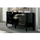 ESF Furniture Magic Double Dresser in Black