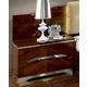 ESF Furniture Matrix 1 Drawer Nightstand in Dark Walnut