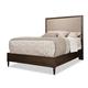 Durham Furniture Blairhampton Queen Upholstered Panel Bed in Husk 141-124H