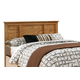 Carolina Furniture Sterling Full Headboard w/ Bed Frame in Clear Oak 4900